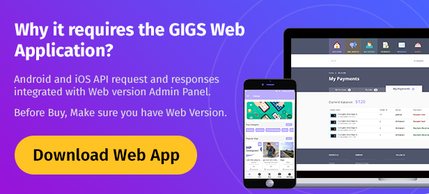 Gigs (Services Marketplace) - Native Android App | Fiverr Clone - 3