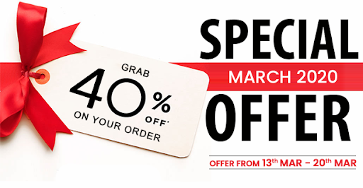 March Offer 2020